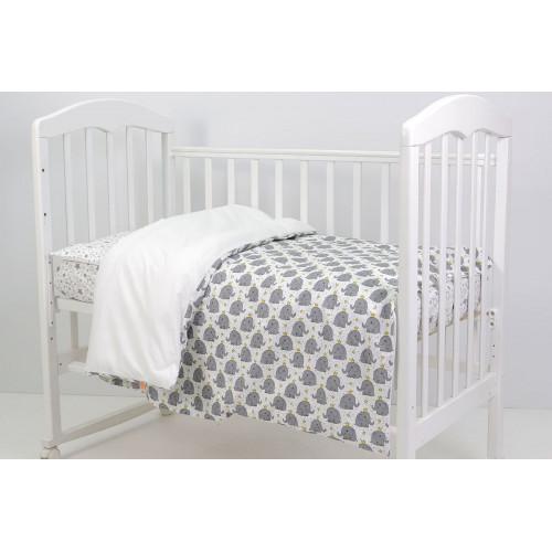 Комплект постельного белья Топотушки Слоненок с короной 3 предмета