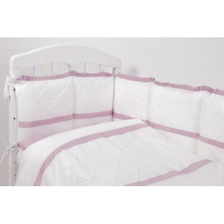 Комплект белья в кроватку Топотушки Розали 6 предметов - сиреневый