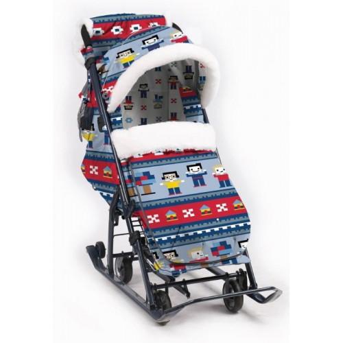Санки-коляска Ника Детям 7-5 ЛЕГО