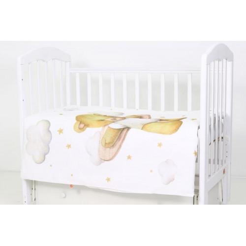 Комплект белья в кроватку Топотушки лучик 3 предмета