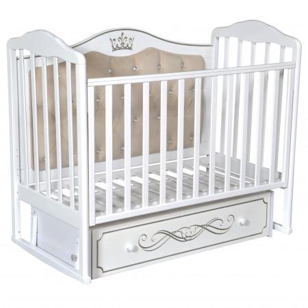 Детская кроватка Helen 7 универсальный маятник - Белый