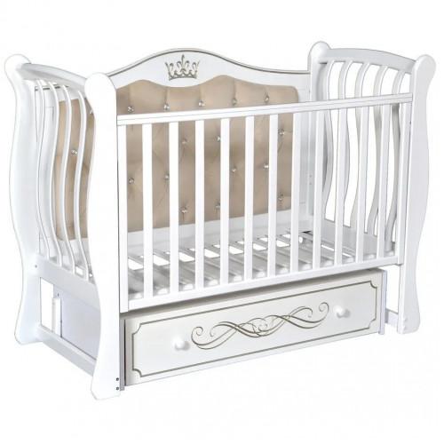 Кровать детская Luiza-333 мягкая спинка
