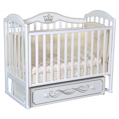 Кроватка детская Emily 3 универс.маятник, ящик