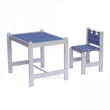 Набор игровой мебели Pixy (стол+стул) - синий