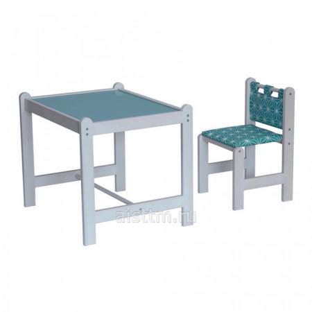 Набор игровой мебели Pixy (стол+стул) - зеленый