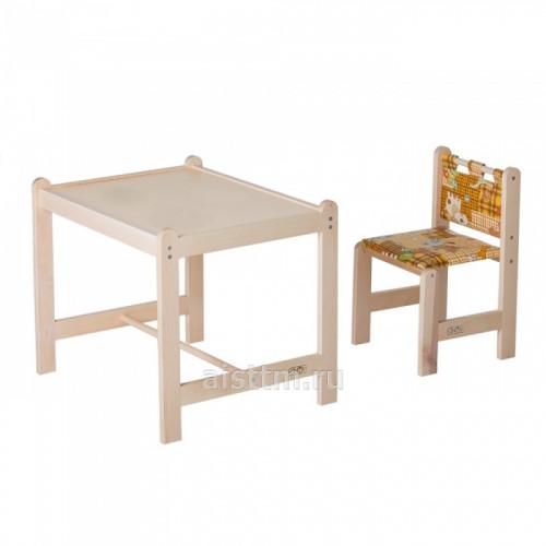 Набор игровой мебели Малыш-2, стол+стул