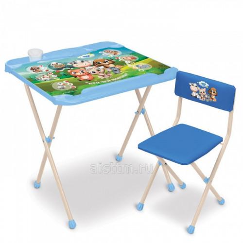 Комплект детской складной мебели НашиДетки (КНД2)