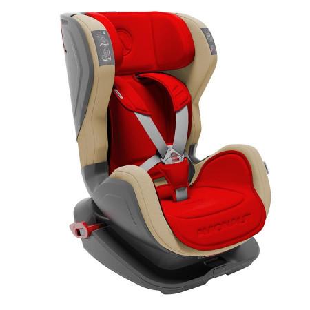 Автокресло Avionaut Glider - Красный-Бежевый