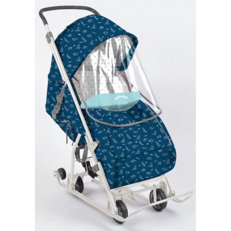 Санки-коляска Умка 3-1 -  blue