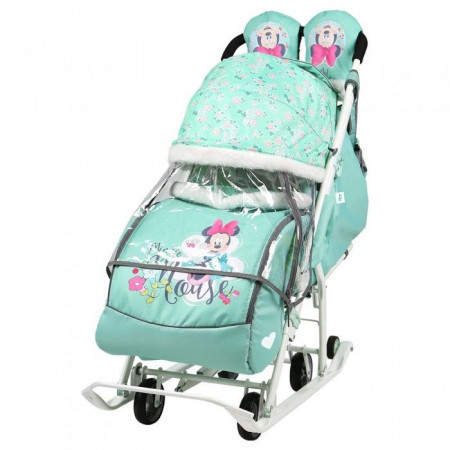Санки-коляска Ника Детям Disney Baby 2 -  blue