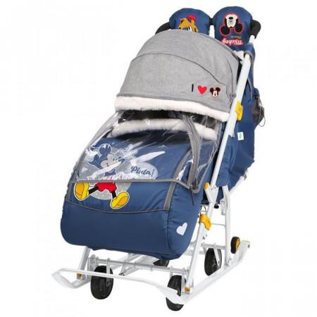 Санки-коляска Ника Детям Disney Baby 2 - 02