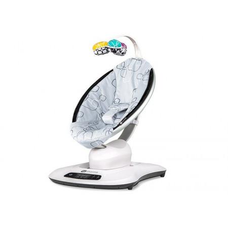 Кресло-качалка МамаРу 4.0 - серый плюш