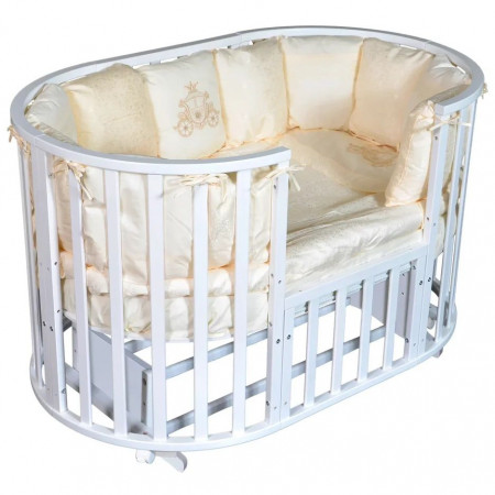 Кровать детская Aleksa 6 в 1 универсальный маятник