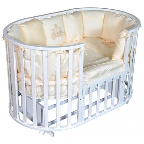 """Кровать детская""""Северянка 3""""6 в 1 (универсальный маятник)"""