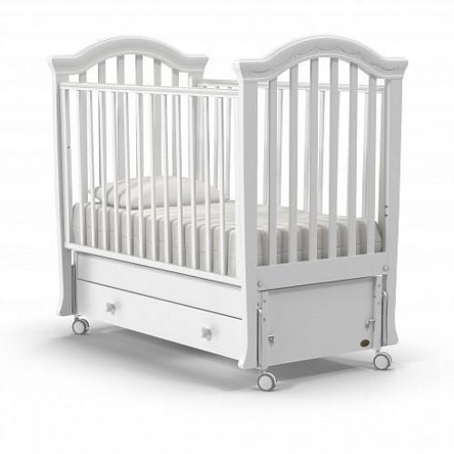 Детская кровать Nuovita Perla swing (продольный маятник)