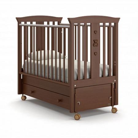 Детская кровать Nuovita Fasto swing (продольный маятник)
