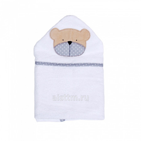 Полотенце для купания Белая коллекция -  blue