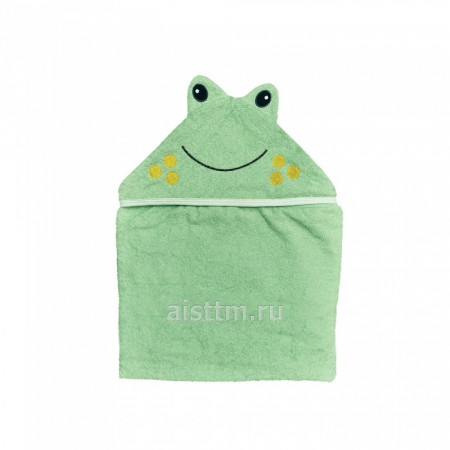 Полотенце для купания Цветная коллекция - Лягушка