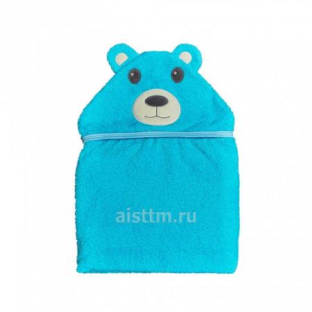 Полотенце для купания Цветная коллекция - мишка