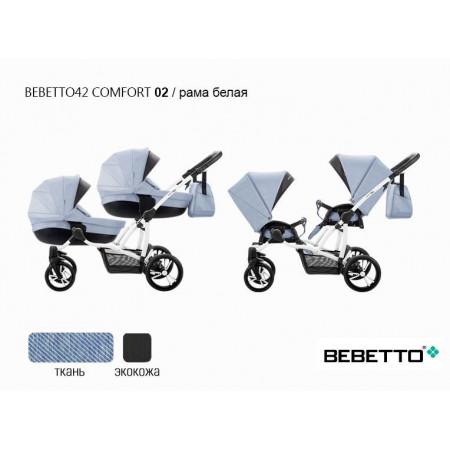 Коляска 2 в 1  Bebetto 42 Comfort - 02