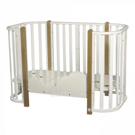 Кровать детская 4 в 1 indigo Brioni - 02