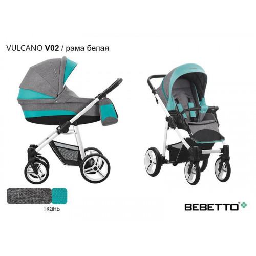 Коляска 2 в 1 Bebetto Vulcano