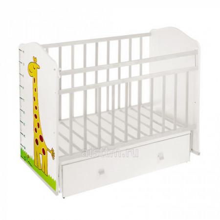 Кровать детская Морозко маятник,ящик