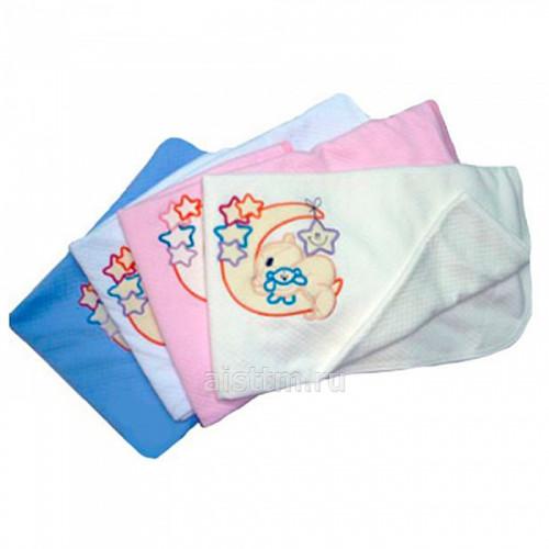 Одеяло-плед с аппликацией