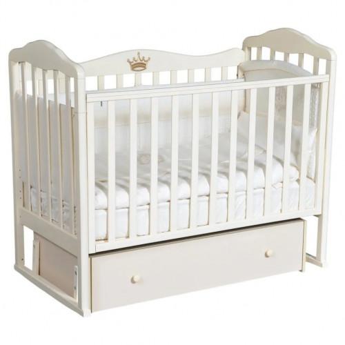 Кроватка детская Helen 4 ящик, универсальный маятник