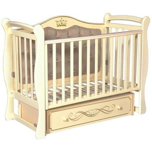 Кровать детская JULIA-111,мягкая спинка(универсальный маятник)