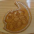 """Комод детский КО-2003-3 """"Иришка"""" с декором Мишка на луне"""