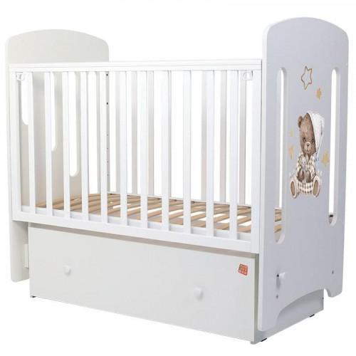 Кроватка детская Топотушки Каролина Пижамная вечеринка маятник 70