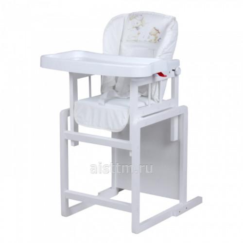 Стол-стул для кормления Мишутка регулируемый