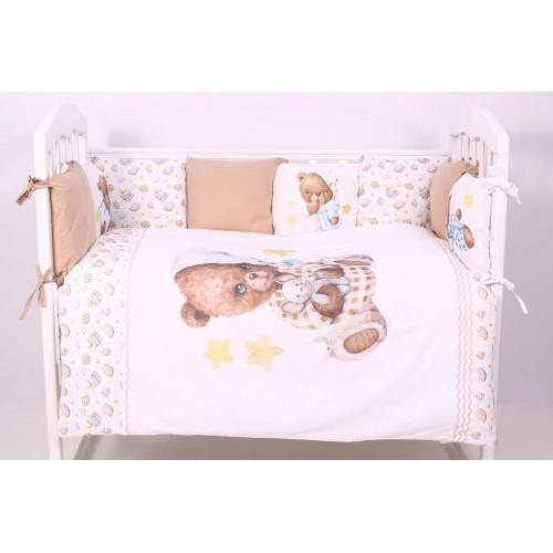 Комплект в кроватку Пижамная вечеринка 6 предметов 684