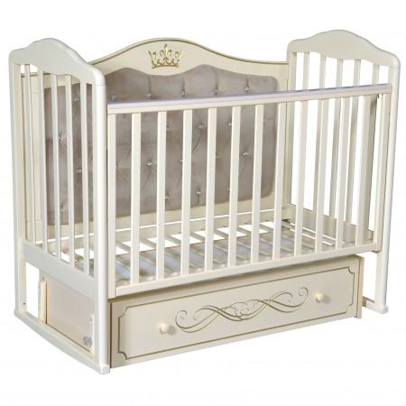 Детская кроватка Helen 7 универсальный маятник - Слоновая Кость
