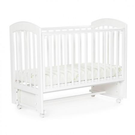 Детская кровать BEBIZARO REGENCY – с универсальным маятником - белый