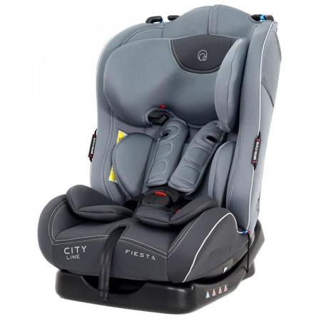 Автокресло Rant Fiesta City line группа 1/2 (0-25 кг) - grey