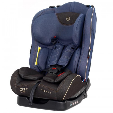 Автокресло Rant Fiesta City line группа 1/2 (0-25 кг) - jeans blue