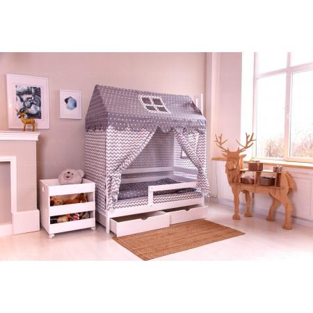 Комплект для кроватки Домик -  blue