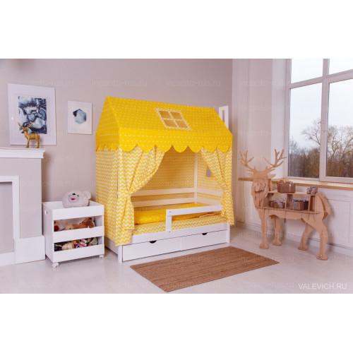 Комплект для кроватки Домик