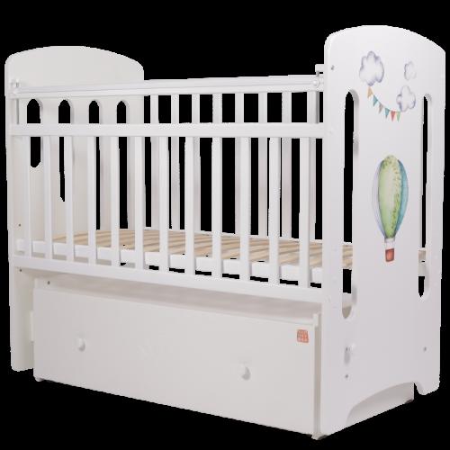 Кровать детская Топотушки Воздушные шары МДФ маятник