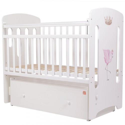 Кровать детская Топотушки Фламинго МДФ маятник