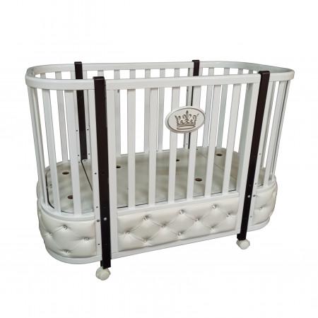 Кровать детская Esenia 1 (автостенка, колесо)