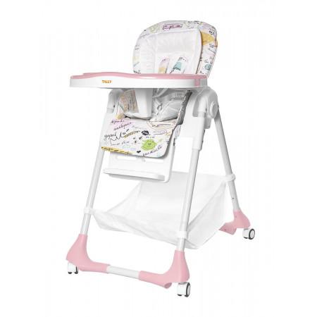 Стульчик для кормления BABY TILLY T-641/2 Bistro - розовый