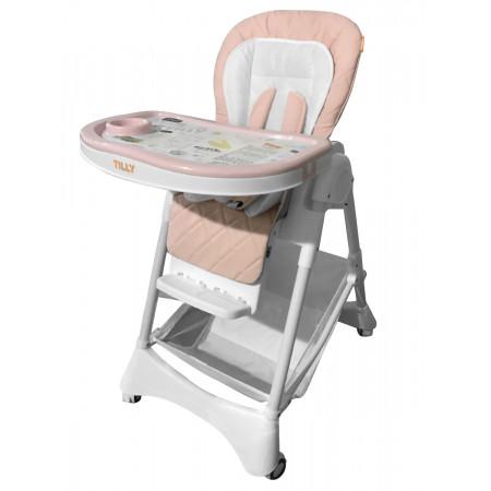 Стульчик для кормления BABY TILLY T-652/1 Tiny - розовый