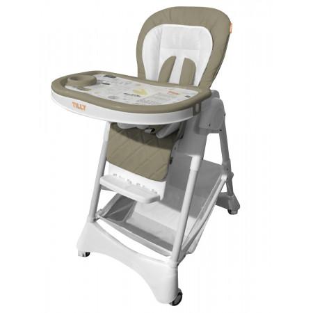 Стульчик для кормления BABY TILLY T-652/1 Tiny - бежевый