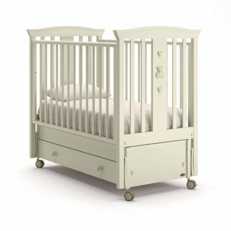 Детская кровать Nuovita Fasto swing (продольный маятник) - ваниль