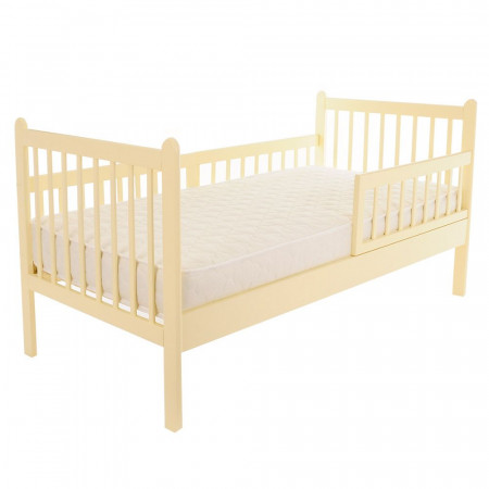 Кровать Подростковая EMILIA NEW 165*86,5*88,5 см - слоновая кость