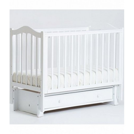 Детская кроватка Кубаночка-1   - белая