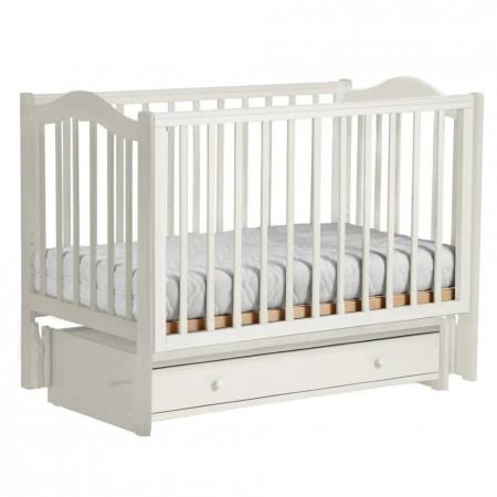 Детская кроватка Кубаночка-1   - белый